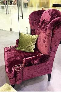 Бархатная мебель