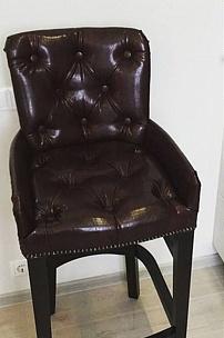 Частный интерьер, Барный стул Гросвенор и диван Честер