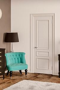 Частный интерьер. Бирюзовое будуарное кресло для спальни