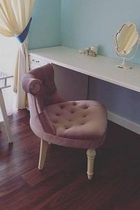 Частный интерьер, будуарное кресло Барокко