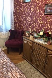 Частный интерьер, будуарное кресло Барокко для спальни