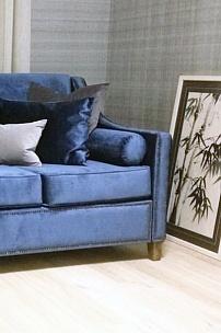 Частный интерьер, диван Рокфорд для гостиной
