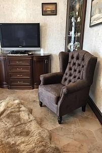 Частный интерьер, каминное кресло Лорд