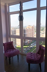 Частный интерьер, кресло Барокко