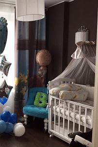 Частный интерьер, кресло для детской