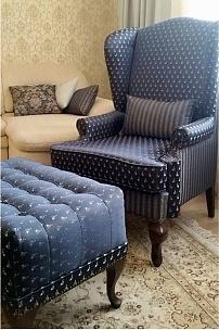Частный интерьер, кресло Лорд