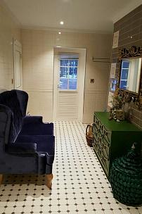 Частный интерьер, мебель в итальянском бархате