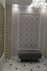 Частный интерьер, пуфик и банкетка в английском стиле