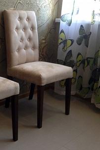 Частный интерьер, стулья Альбан