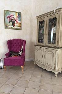 Частный интерьер, вольтеровское кресло