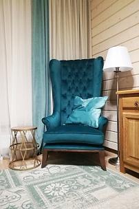 """Эко-стиль и мебель """"пэчворк"""" в интерьере загородного дома"""