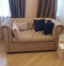 Гостиная в классическом стиле, Честерфилд и подушки