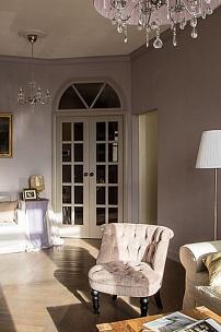 Интерьер гостиной, кресло Moka mini