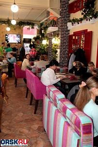 Кафе «Пицца - Помидор», г. Орск, ул. Краматорская 11