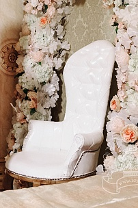 Кресло для фотосессии невесты и жениха