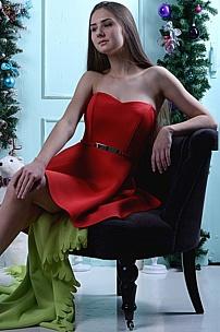 Кресло для новогодней фотосессии