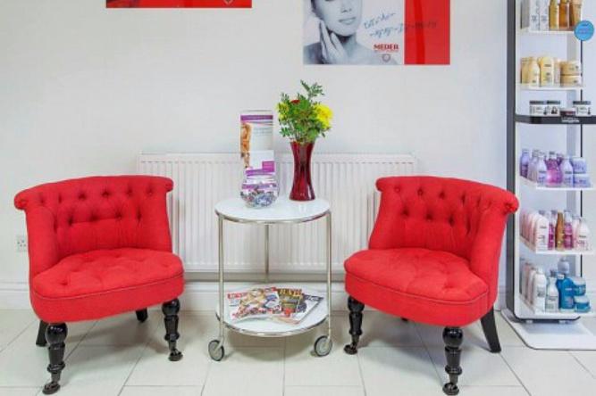 салона красоты для фото кресла