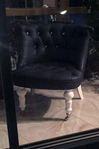 Кресло Мока со стразами