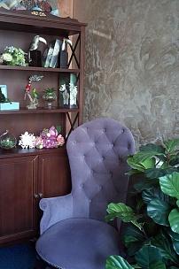 Лавандовое кресло Классик