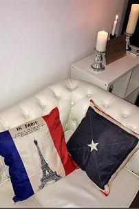 Парижский шик. Белый диван Честер