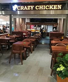 "Ресторан ""Crazy Chicken"", ТЦ ""Redi"", Hermannin rantatie 5, Helsinki"